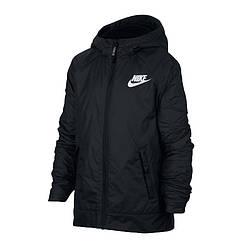 Куртка детская Nike JR NSW Fleece Ind Jacket 010 (939556-010)