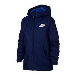 Куртка детская Nike JR NSW Fleece Ind Jacket 478 (939556-478)