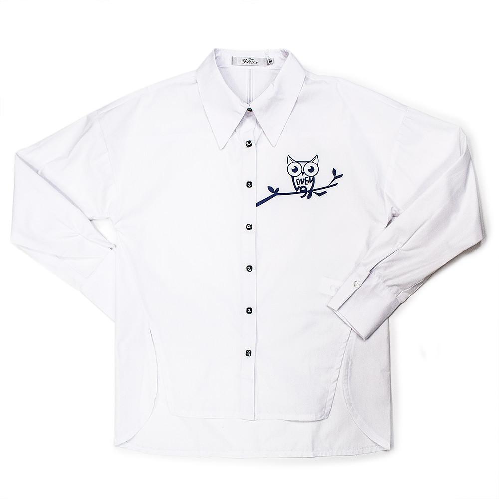 Блуза для девочек Deloras 122  белый 62053