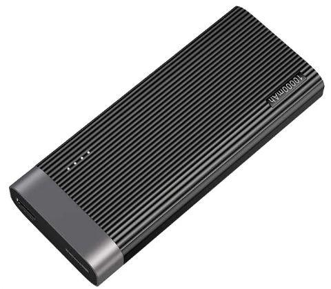 Power Bank Baseus Parallel line portable version 10000mAh Black
