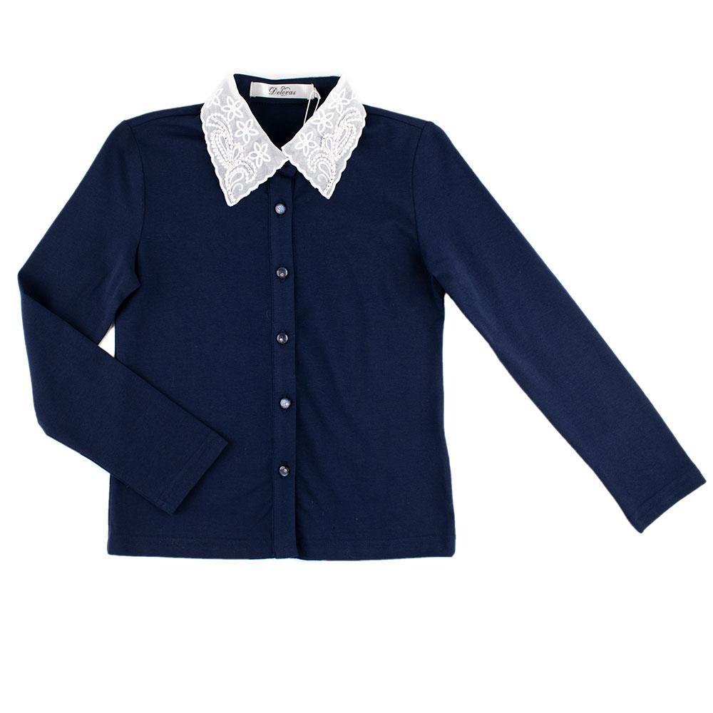 Блуза для девочек Deloras 122  синий C61795