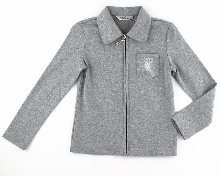 Блуза для девочек Deloras 158  серый C61861