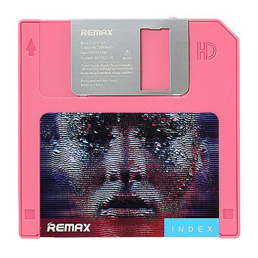 УМБ Remax RPP-17 Floppy Disk 5000 mAh Rose