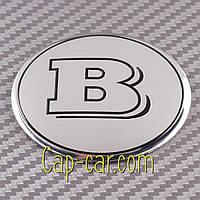 Наклейки для дисків з емблемою Mercedes Benz Brabus. ( Брабус ) Ціна вказана за комплект з 4-х штук