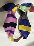 Двухсторонняя повязка Солоха на резинке с съёмным бантом, фото 3