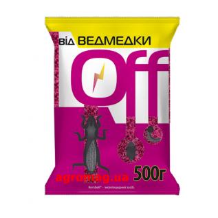 Инсектцид Медведка OFF, 500 г — средство борьбы с медведкой