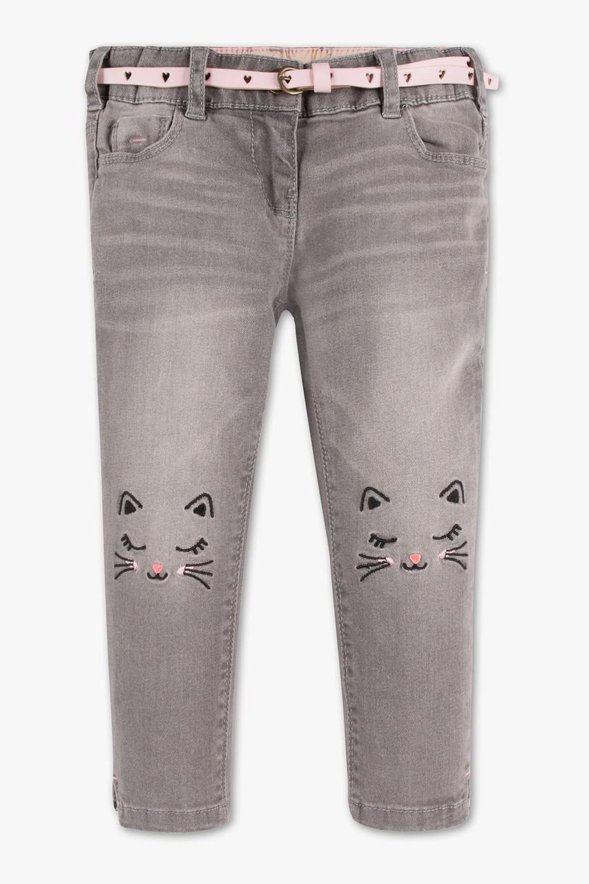 Серые джинсы на девочку C&A Германия Размер 116