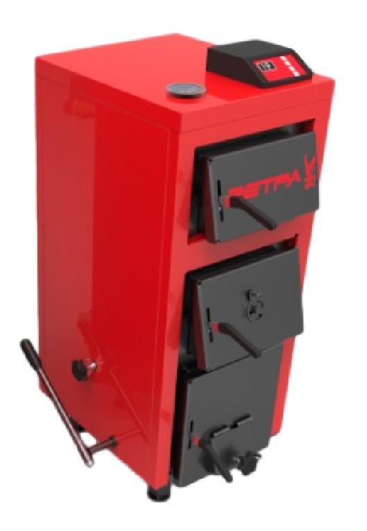 Бытовой котел на твердом топливе длительного горения РЕТРА-5М ПЛЮС 25кВт (RETRA 5-M PLUS)