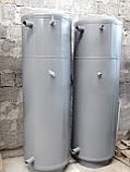 Теплоакумулятор BakiLux 200л з нижнім теплообмінником без утеплення, теплоакумулятор, буферна ємність, фото 2