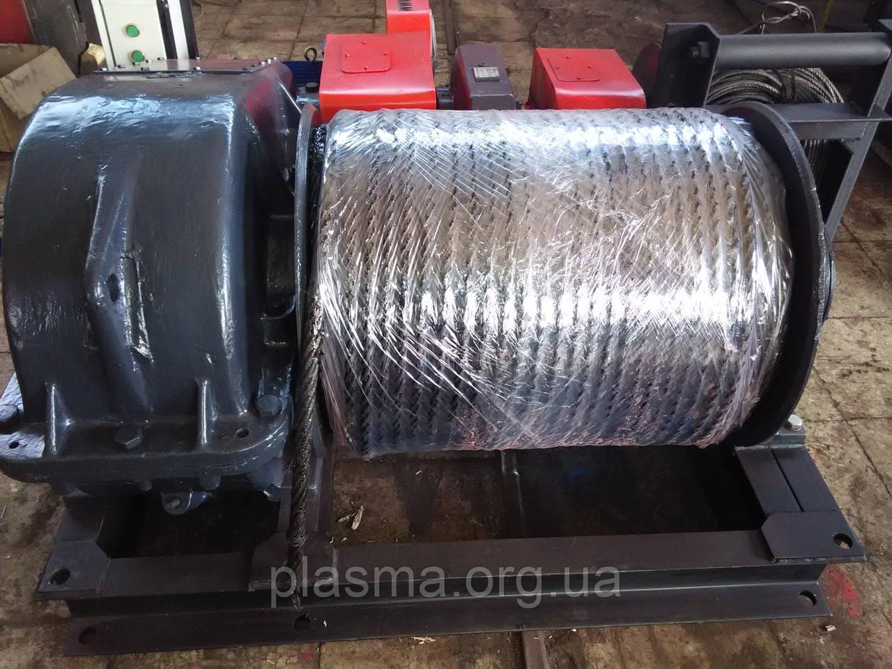 Лебедка электрическая тяговая ТЭЛ-10 (ТЭЛ-10Б)