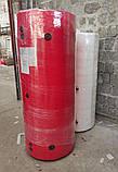Теплоакумулятор BakiLux 350л з двома теплообмінниками з утепленням, теплоаккумулятор, буферная емкость, фото 3