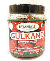 Гульканд джем из лепестков роз Патанджали 500 г (Gulkand Patanjali)