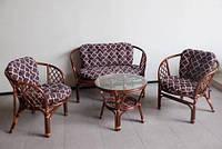 Комплект из натурального ротанга Tavria, мебель из натурального ротанга, комплект из ротанга