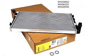 Радиатор охлаждения (двигатель BLS/BSU;(408x648x32) VW Caddy III 1.9TDI 2004-2010 NRF (Нидерланды) 53813