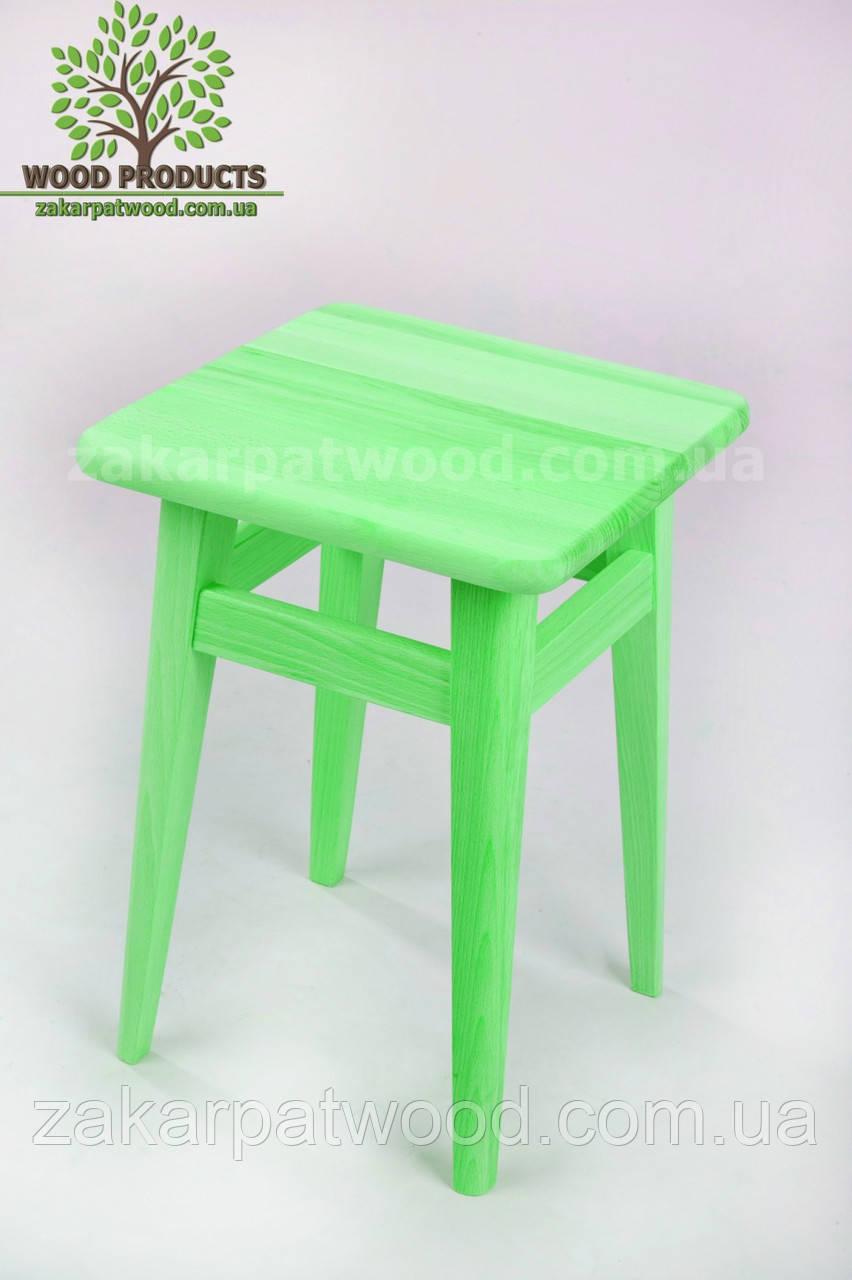 Табурет дитячий *зелений* (30*26*26см)
