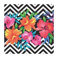 Декупажные салфетки ''Тропические цветы'', 33x33 см, 17,5 г/м2, 20 шт, ti-flair