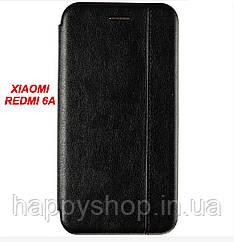Чехол-книжка Gelius Leather для Xiaomi Redmi 6A (Черный)