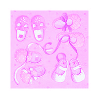 Декупажные салфетки ''Для девочки'', 33x33 см, 17,5 г /м2, 20 шт, ti-flair