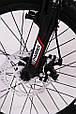 Горный подростковый велосипед S200 HAMMER Колёса 20 дюймов Рама 12  Япония Shimano Бело-Красный, фото 5