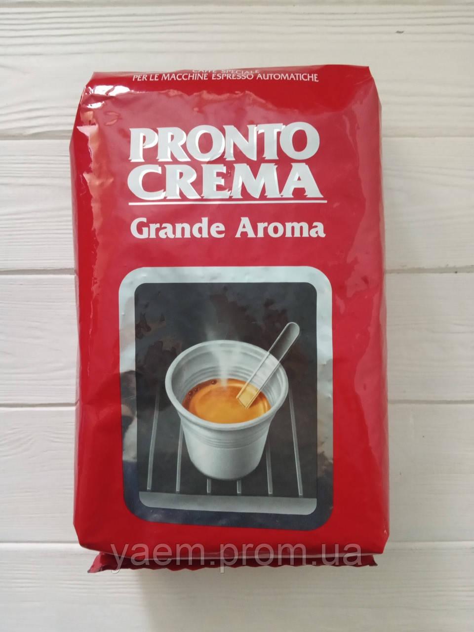 Кофе в зернах Pronto Crema Grande Aroma 1 кг (Италия)
