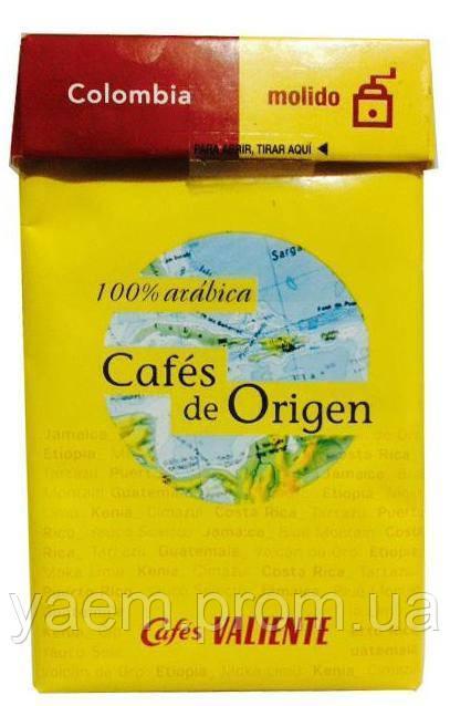 Кофе молотый Cafes Valiente Cafes de Origen Colombia 250гр. (Испания)