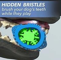 Щетка для чистки зубов у собак Шебруш для средних/больших пород, зубная щетка для собак и котов