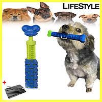 Массажная щетка для чистки зубов у собак Сhewbrush три способа отчистки, для средних/больших пород, зубная щетка для собак и котов