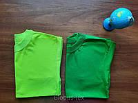 Футболка детская однотонная подростковая кулир размер 42 (38/40)
