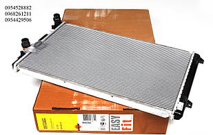 Радиатор охлаждения (648x406x26мм) VW Caddy III 1.2TSI 2010-2015  NRF (Нидерланды) 53406