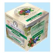 """Крем-маска для лица """"Лесные ягоды"""" коллагеновая витаминопитающая на овечьем масле 50мл"""