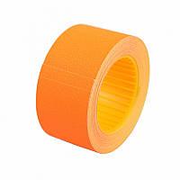 Ценник Datum флюо TCBIL3040 8,00м, прям.200шт/рол (оранж.)