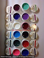 Набор 12 шт цветных гелей сосо