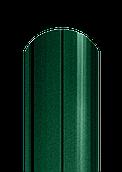 Штакет напівкруглий матовий двосторонній 6005 МАТ (темно-зелений)