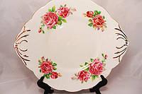 Старинная тарелка Salisbury Bone China Англия 50е года ХХ века, фото 1