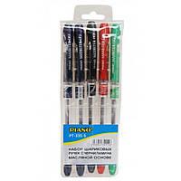 Набір Piano Maxriter PT-335/5 масляні ручки 5шт, 5 кол. 0,5мм (1/24)