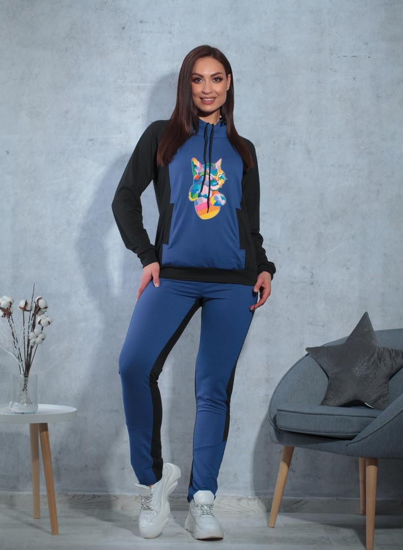 Женский спортивный костюм / двунитка / Украина 47-5305