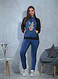 Женский спортивный костюм / двунитка / Украина 47-5305, фото 3