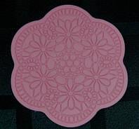 """Текстурный коврик для айсинга """"Цветок ажурный""""(Код 01522)"""