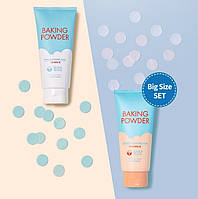 Набор пенок для умывания Etude House Baking Powder Pore Cleansing Foam @ BB Deep Cleansing Foam по 300мл