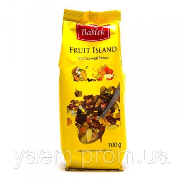 Чай фруктовый с травами BASTEK Fruit Island 100гр. (Польша)