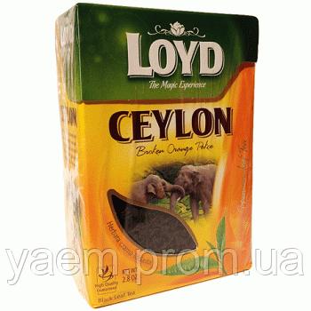 Чай черный Loyd Ceylon 80гр. (Польша)
