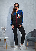 Женский спортивный костюм / двунитка / Украина 47-5308, фото 1