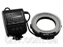 Макровспышка кольцевая Meike FC100 LED Canon Nikon