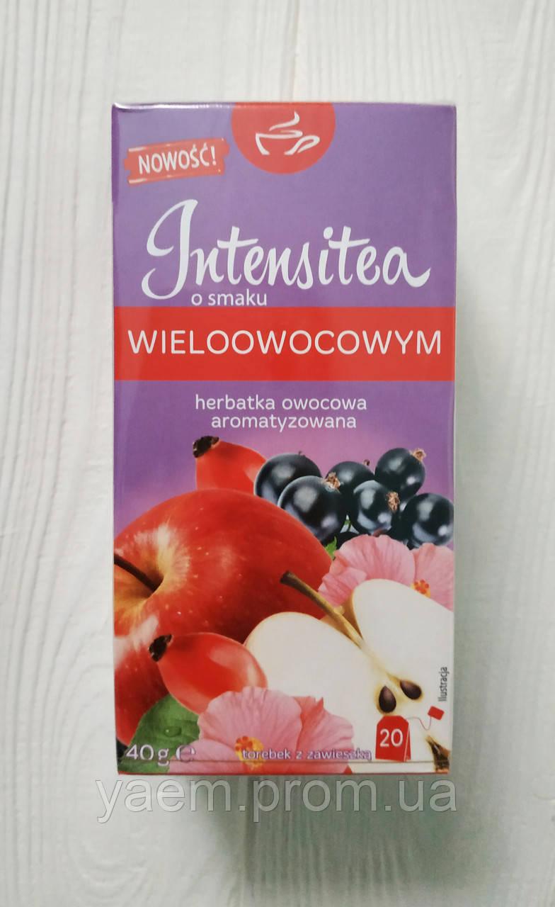 Чай фруктовый в пакетиках Intensitea 20пак. (Польша) 40, Мультифруктовый