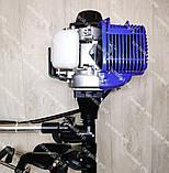 Чотиритактний Човновий мотор з редуктором Витязь 58 куб. см 4т, фото 7