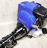 Чотиритактний Човновий мотор з редуктором Витязь 58 куб. см 4т, фото 6