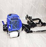 Чотиритактний Човновий мотор з редуктором Витязь 58 куб. см 4т, фото 9