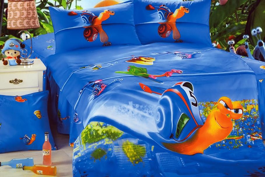 Детское постельное белье сатин LA SCALA KI-086