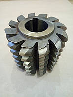 Фреза червячная для зубчатых колес зацепления Новикова М6  H6436 2510-3020 Р6М5 кл.А  3°9` 125х125х40 левая