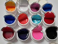 Набор 12 шт цветных гелей  сосо акция